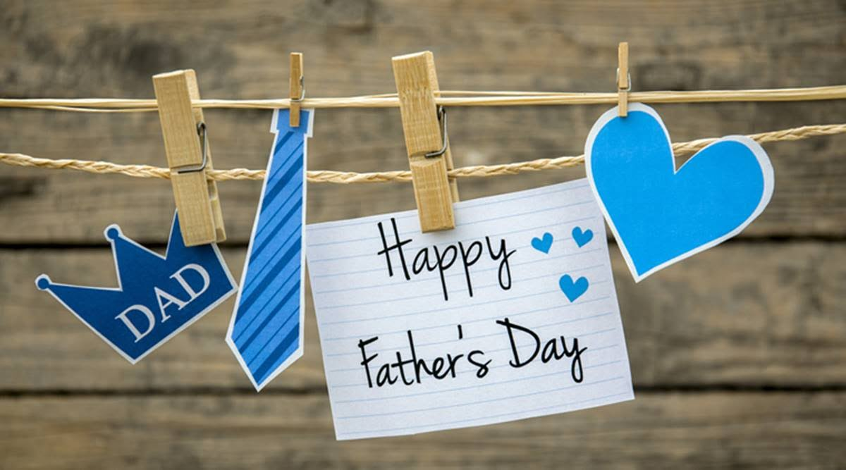 "On Father's Day, many people make a special effort to visit their father. They often take or send cards and gifts. Common Father's Day gifts are ties, socks, underwear, sweaters, slippers and other items of clothing. Other people give tools for household maintenance or garden work, luxury food items or drinks. Many Father's Day gifts have slogans such as ""The World's Best Dad"", ""For My Father"" or just a simple ""Dad"" on them. The increase in print-on-demand services offered by photo processing companies has made personalized gifts even more popular for Father's Day. Photographs of children can be printed on desk calendars, mugs, T-shirts, mouse mats, bags and even ties. Many fathers are expected to take these to the office to remind them of their families while they are working."
