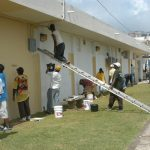 VOLUNTEERS-AT-WORK-ON-NATIONAL-LABOUR-DAY-PROJECT-IN-ST.-ANN