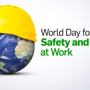 The annual World Day for Safety and Health at Work on 28 April promotes the prevention of occupational accidents and diseases globally. It is an awareness-raising campaign intended to focus international attention on the magnitude of the problem and on how promoting and creating a safety and health culture can help reduce the number of work-related deaths and injuries. Each of us is responsible for stopping deaths and injuries on the job. As governments we are responsible for providing the infrastructure — laws and services — necessary to ensure that workers remain employable and that enterprises flourish; this includes the development of a national policy and programme and a system of inspection to enforce compliance with occupational safety and health legislation and policy. As employers we are responsible for ensuring that the working environment is safe and healthy. As workers we are responsible to work safely and to protect ourselves and not to endanger others, to know our rights and to participate in the implementation of preventive measures.